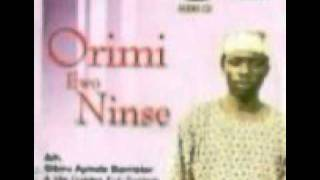 Dr Sikiru Ayinde Barrister - Ori mi ewo Ninse A