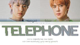 EXO-SC (세훈&찬열) - 'Telephone (척) (feat. 10cm (십센치))' Lyrics (Color Coded _Han_Rom_Eng)