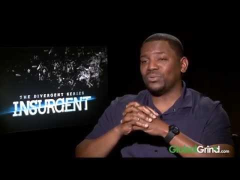 Mekhi Phifer & Octavia Spencer Talks Insurgent, Working Together & His 8 Mile Wig