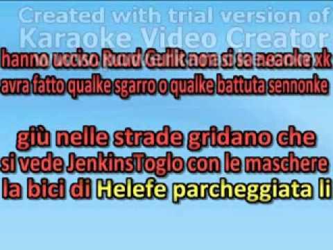 ● Hanno ucciso Ruud Gullit ● Karaoke Version
