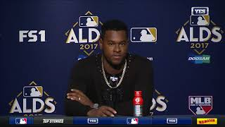 Luis Severino on ALDS Game 4 victory