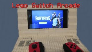 Lego Switch Arcade That Takes Money (Splatoon 2) (Fortnite) (Rocket League)