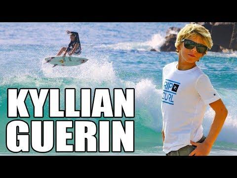 Kyllian Guerin : A 11 ans, il surfe déjà comme un pro !