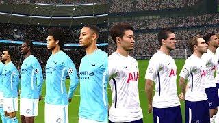 Manchester City vs Tottenham   Premier League   16 December 2017 Gameplay