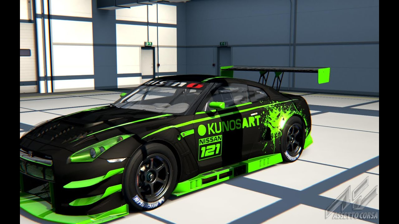 Assetto Corsa Cars & Tracks #53 - Nissan GT-R Nismo GT3 in ...