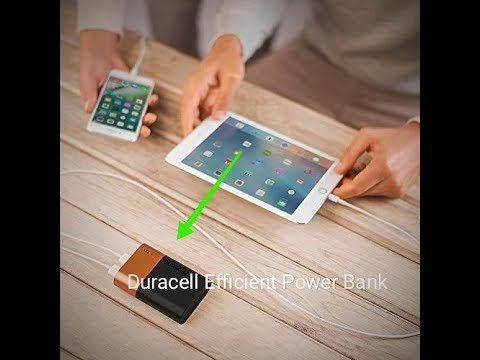 Amazing Duracell Power banks Exclusively on Amazon At variable Capacities.