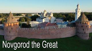 Novgorod the Great, Russia, 4K