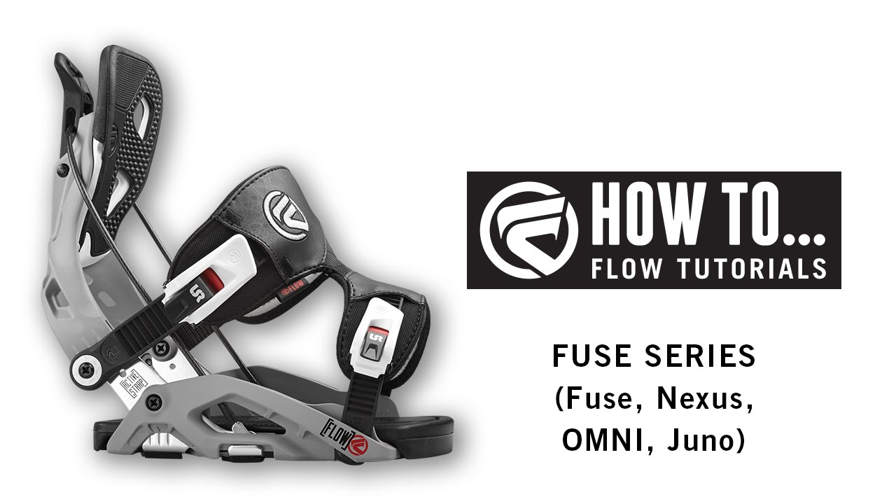 460afefcde5 How To set up your FLOW Fuse series bindings - YouTube