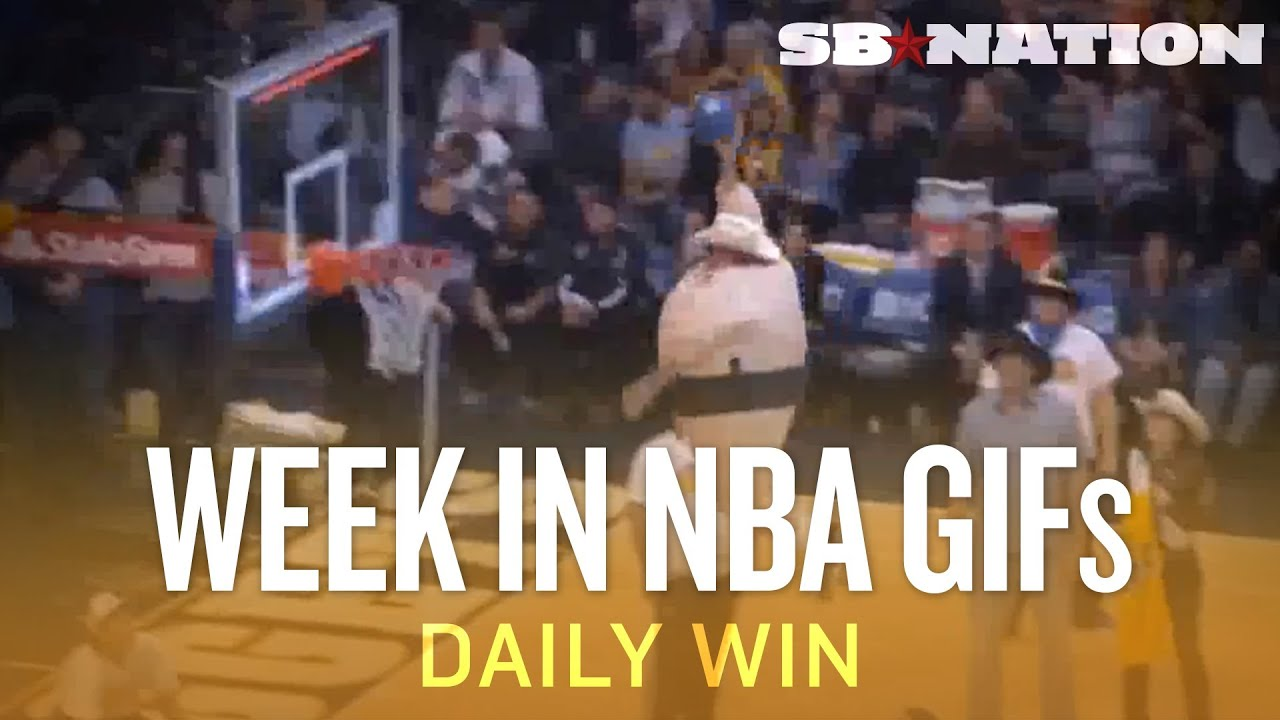 DeAndre Jordan, Kelly Olynyk, dunking sumo, and the Week in NBA GIFs (Daily Win)