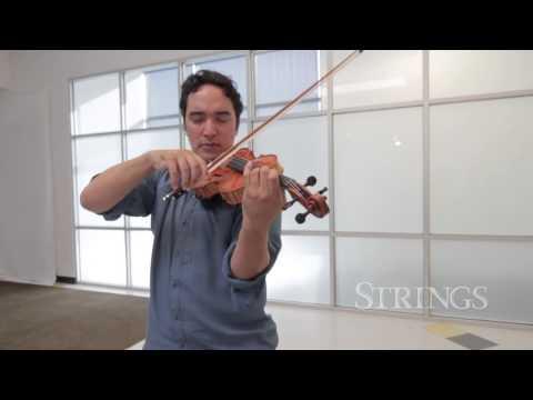 Strings Magazine Reviews Cremona Violins!