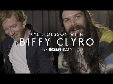 Biffy Clyro Interview with Kylie Olsson | MTV Uplugged Exclusive
