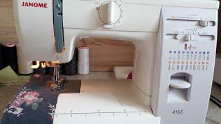 Как шить на швейной машинке. Урок 2.