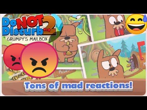 Do Not Disturb Game Series # 2 Mad Reactions  لا و الف لا للازعاج ارجو عدم الازعاج  