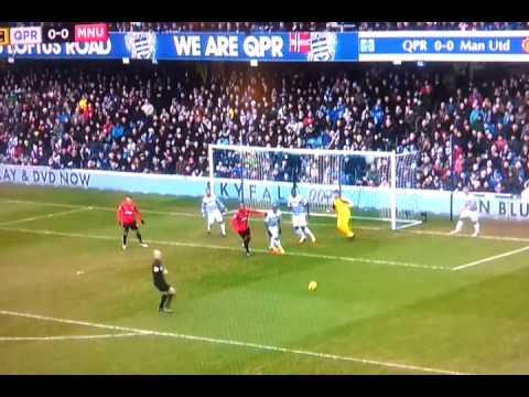 Rafael Da Silva Goal Man Utd V QPR