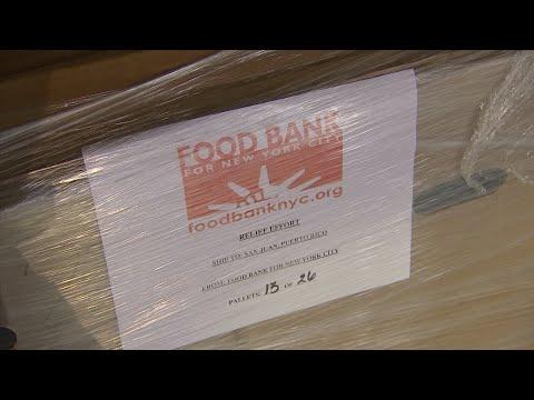 NYC Food Bank Ships 20,000 Meals to Puerto Rico