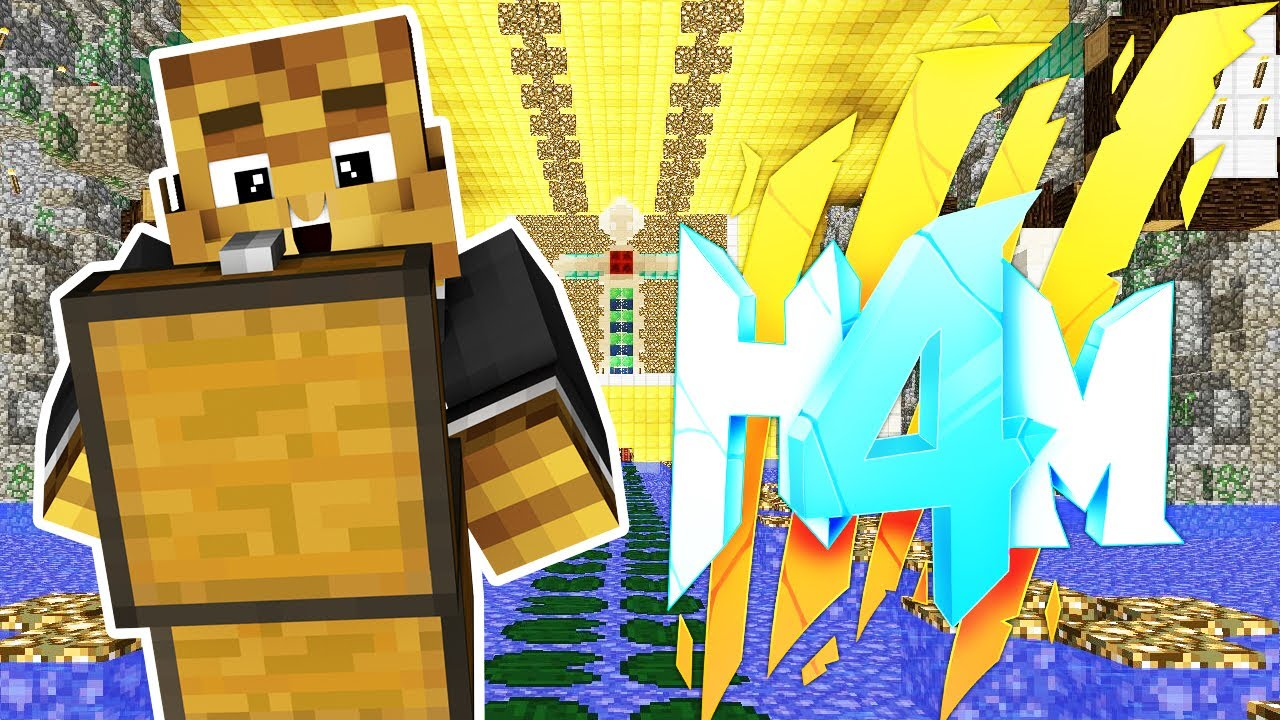 GETTING ALL THE GOLD!! - HOW TO MINECRAFT SEASON 4 SMP (H4M)  #10