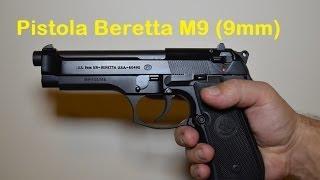 Pistola Beretta M9 em 9mm