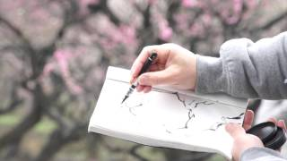 Painting Chinese Plum Blossoms with Henry Li 01