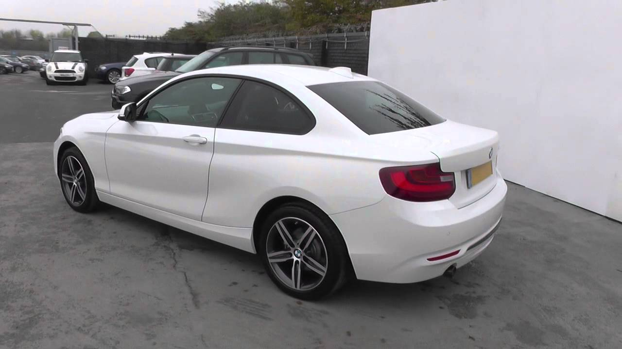 bmw 2 series 218i se 2dr nav u14696 youtube. Black Bedroom Furniture Sets. Home Design Ideas