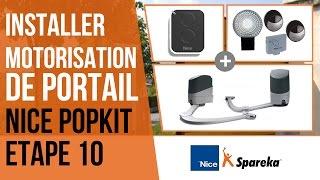 Comment installer sa motorisation de portail Nice Popkit ? Etape 10 : les télécommandes