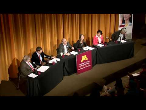 Humphrey School panel discussion on Trump administration policies