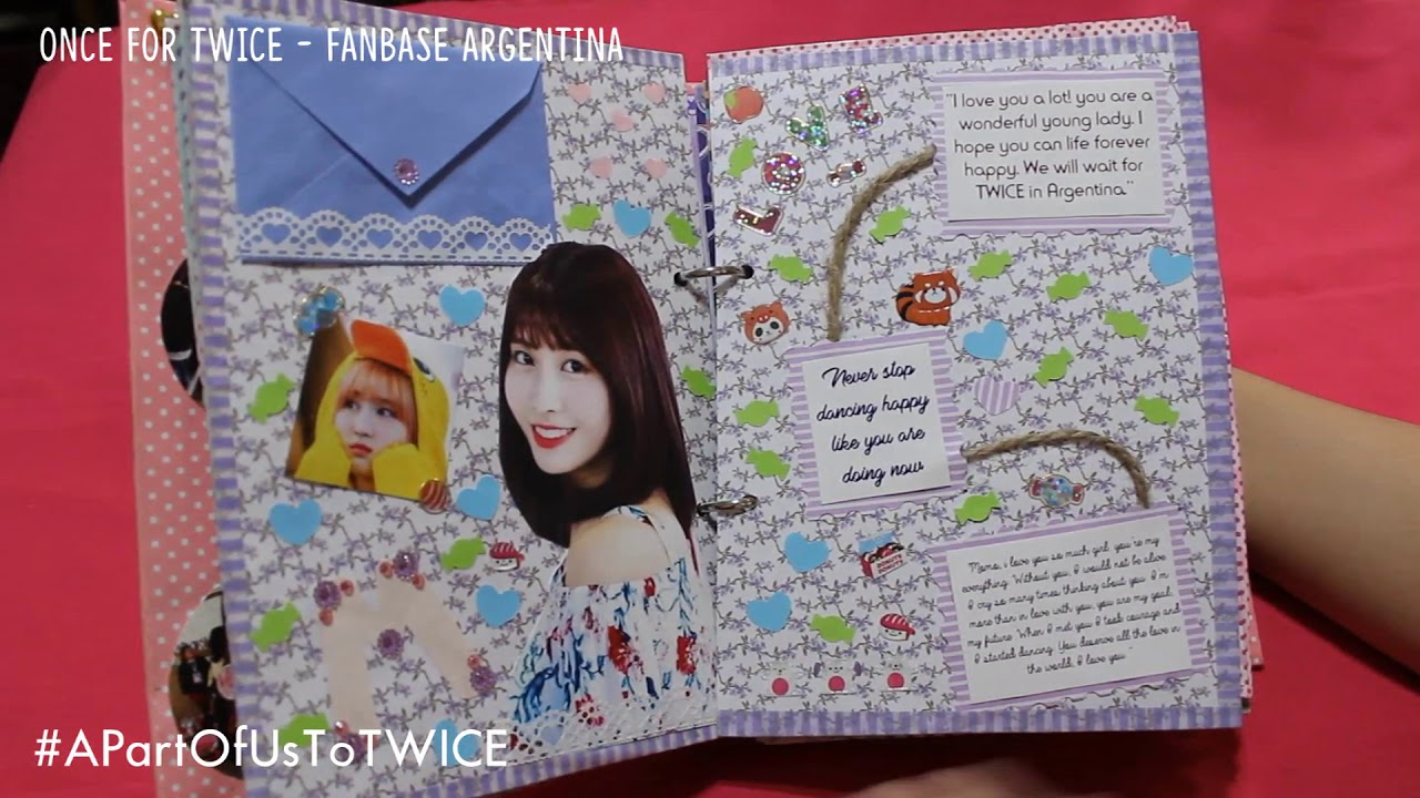 A Part Of Us To Twice Scrapbook From Argentina Youtube