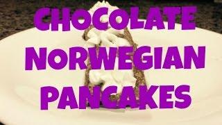 Recipe: Chocolate Norwegian Pancakes