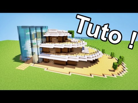 maison galette moderne tuto minecraft p youtube. Black Bedroom Furniture Sets. Home Design Ideas