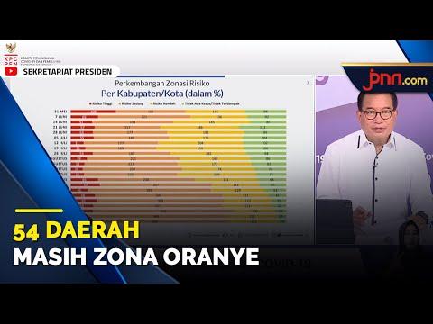Satgas Minta Dilakukan Evaluasi Menyeluruh Bagi 54 Daerah Zona Oranye