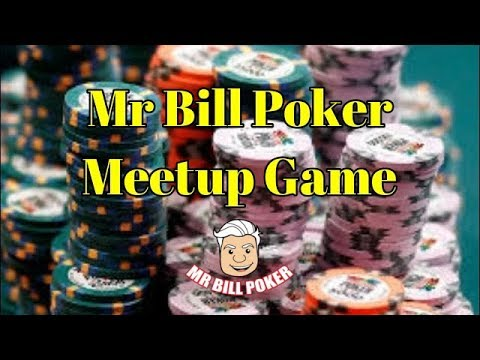 Mr Bill Poker - Meetup Game Sign-Up