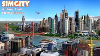 SimCity - Origin Trial Shenanigans - Uncut/No Commentary (HD PC Gameplay)
