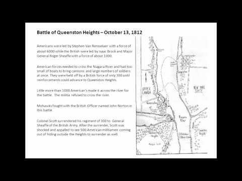 War of 1812 - Oneida's Part