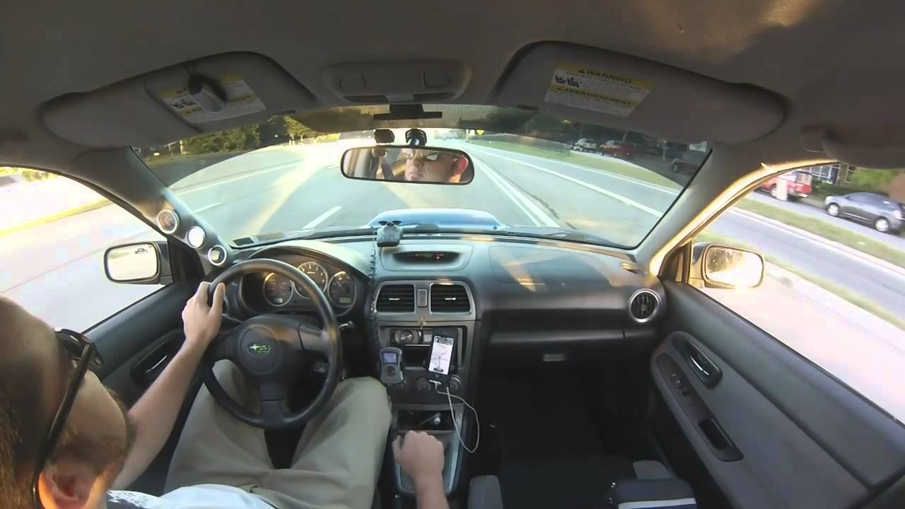 Don Miller Subaru >> 2007 Subaru WRX Stage 3 vs Turbo Civic - YouTube