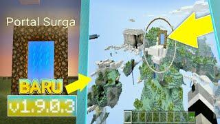 Cara buat Portal Surga dengan Air cari Disembunyikan - (Minecraft: Pocket Edition)