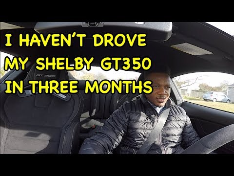 FIRST DRIVE IN MY SHELBY GT350 *IT WAS SITTING FOR 3 MONTHS*