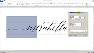 How to use stylistic sets font in Microsoft Word 2010