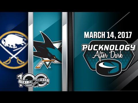 Pucknology After Dark (Postgame) Sharks vs. Sabres 3/14/2017