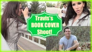 TRAVIS'S BOOK COVER SHOOT!