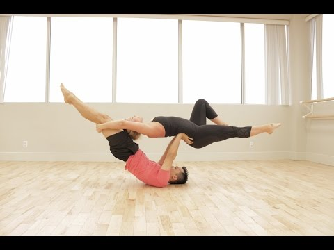Acro Yoga Flow Sequence with Super Dave and Amanda