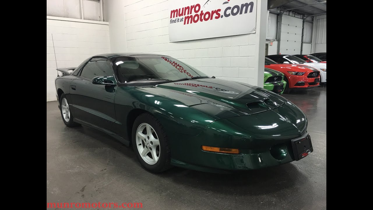 1994 Pontiac Firebird Trans Am Sold Corvette Engine Ram Air Low Kms Munro Motors
