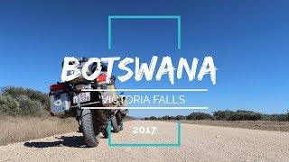 Botswana Adventure Motorcycle Tour - Victoria Falls Teaser