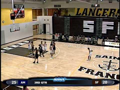 Archbishop Mitty Monarchs vs St Francis Lancers -  Basketball January 13, 2015