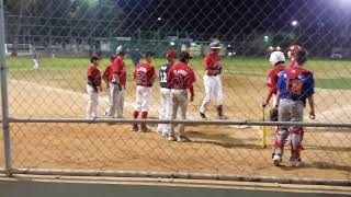 Home Run en Torneo de Little League 2016 vs Soles en Semifinales.