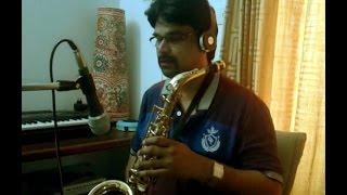 Ilayaraja instrumental Tamil Hit - Oru Poongavanam - Alto Sax