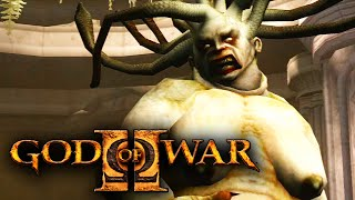 GOD OF WAR 2 TITAN - Kratos Vs Euryale (11)