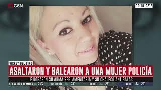 Virrey del pino: asaltaron y balearon a una mujer policía