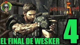 🔴 RESIDENT EVIL 5.(CAP 4) EL FINAL DE WESKER ESPAÑOL