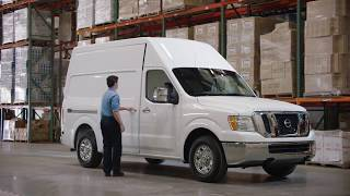 Nissan nv cargo van overview - el paso dealer casa