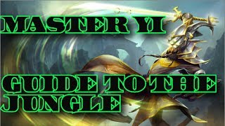 beginners guide to league of legends   master yi strategy   how to jungle