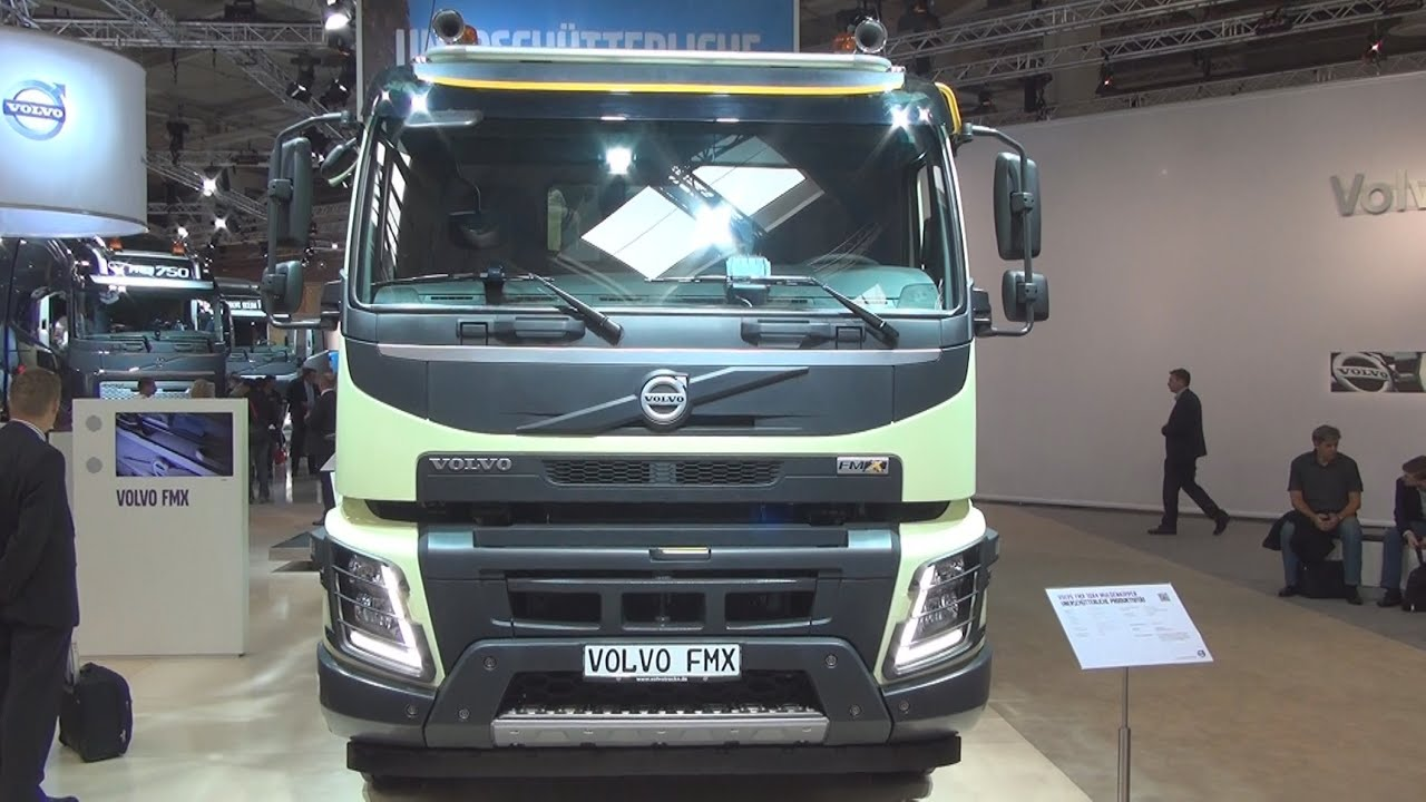 Volvo Fmx 10x4 540 Tipper Truck Exterior And Interior In